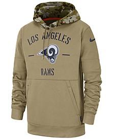 Men's Los Angeles Rams Salute To Service Therma Hoodie
