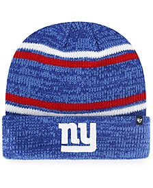 New York Giants Marled Stripe Cuff Knit Hat