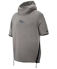 Men's Denver Broncos Player Repel Short Sleeve Hoodie