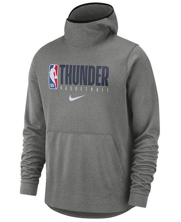 Nike Men's Oklahoma City Thunder Spotlight Pullover Hoodie