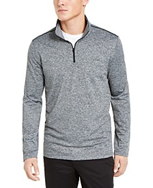 Men's Space Dyed Quarter-Zip Sweater