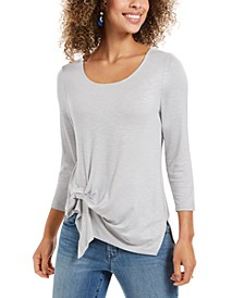 Tie-Front Top, Created For Macy's