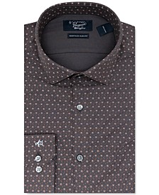 Men's Heritage Slim-Ft Performance Stretch Floral Dress Shirt