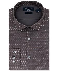 Men's Heritage Slim-Ft Performance Stretch Floral Dress Shirt