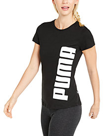 Puma Cotton Rebel Logo T-Shirt