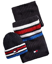 Men's Ski Patrol Hat & Scarf Set
