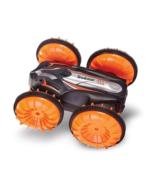 Brookstone Land/Water High Speed, Amphibious Stunt R/C Vehicle