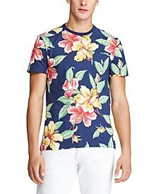 Men's Big & Tall Classic Fit Floral Pocket T-Shirt