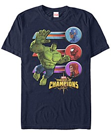 Men's Gamerverse Hulk Jump Contest Of Champions, Short Sleeve T-Shirt