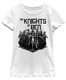 Big Girls The Knights of Ren Short Sleeve T-Shirt