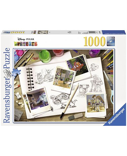 Ravensburger Disney Pixar - Sketches - 1000 Piece