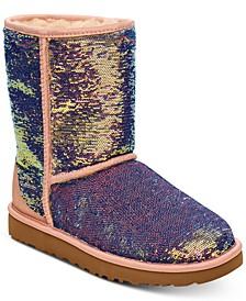 Women's Classic Short Cosmos Sequin Boots