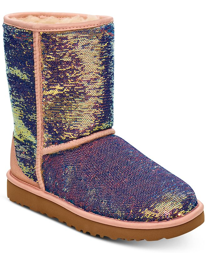 UGG® Women's Classic Short Cosmos Sequin Boots