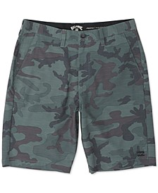 Men's Crossfire Stretch Micro Repel Textured Hybrid Shorts