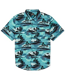 Men's Sundays Tropical-Print Shirt