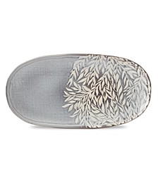 Textured Neutrals Oval Tray