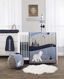 Cosmo Bear 4-Piece Crib Bedding Set