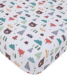 Retro Camper Crib Sheet