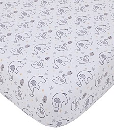 Dream Big Little Elephant Crib Sheet