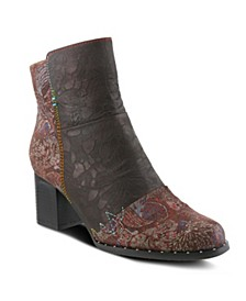 Women's Jewells Floral Look Booties