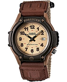 Men's Forester Tan Nylon Strap Watch 41mm