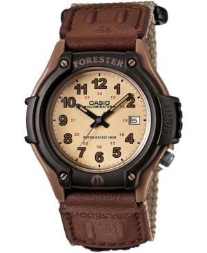 Men's Forester Tan Nylon Strap Watch 41mm