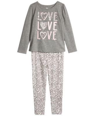 Toddler Girls Cheetah Love T-Shirt, Created For Macy's