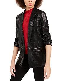 A|X Armani Sequined Blazer