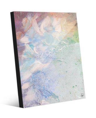 "Heart Beating Fast Pastel Abstract 24"" x 36"" Acrylic Wall Art Print"