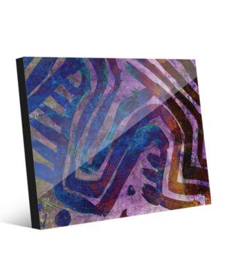 Kasanka in Purple Abstract 16