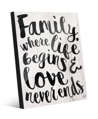 Family - Where Life Beings in Black 16