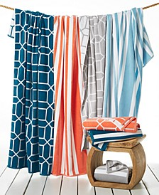 Resort Cotton Beach Towel Collection, Created for Macy's