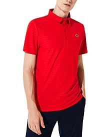 Men's Ultra Dry Tech Micro Stripe Polo Shirt