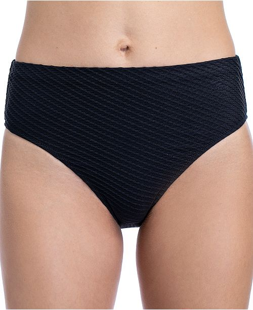 Profile by Gottex Ribbons Textured Bikini Bottoms