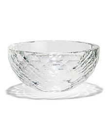 Faceted Crystal Bowl in Gift Box