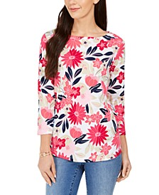 Floral Print Top, Created for Macy's