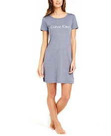 Logo Print Sleepshirt Nightgown