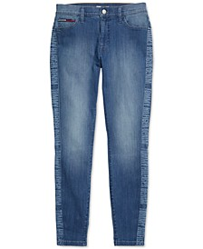 Women's Jeggings with Magnetic Closure