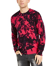 INC Men's Gnover Tie Dye Sweater, Created for Macy's