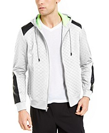 INC Men's Quilted Hooded Jacket, Created for Macy's