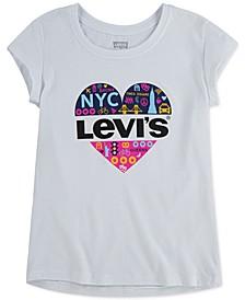 Big Girls Cotton NYC Heart T-Shirt