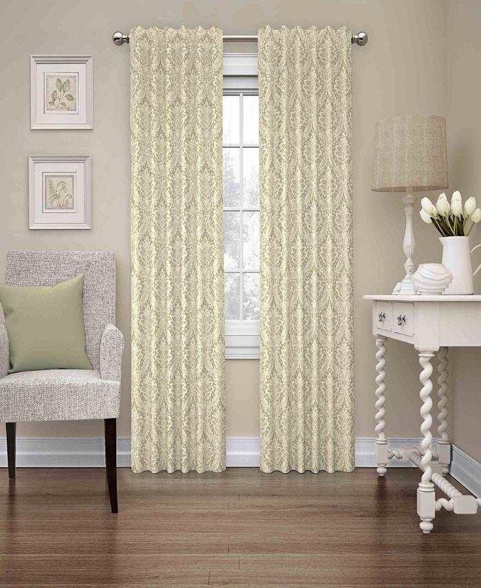 Waverly - Donnington Damask Window Curtain