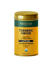 Organic Turmeric Ginger, Superfood Latte Mix 40 Servings