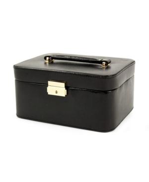 Bey-Berk Lizard Debossed Jewelry Box