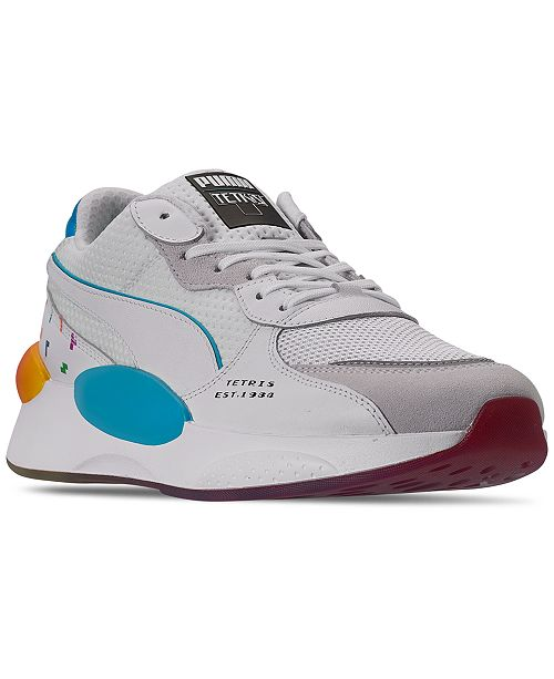 Puma Men's RS 9.8 x Tetris Casual Sneakers from Finish Line
