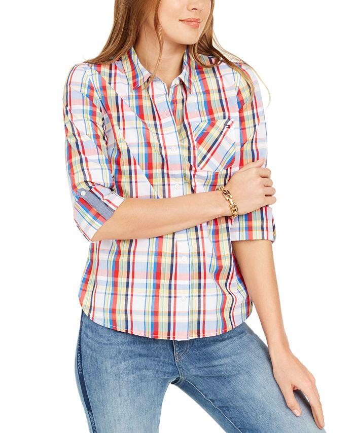 Tommy Hilfiger - Check-Print Button-Down Shirt