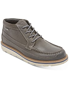 Men's Storm Front Moc-Toe Waterproof Chukka Boots