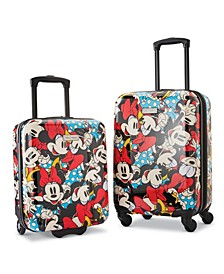 Disney Minnie Mouse 2-Pc. Roll Aboard Luggage Set