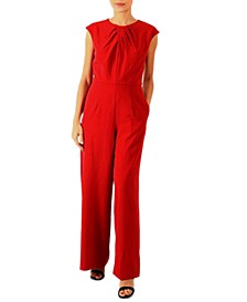 Round-Neck Jumpsuit