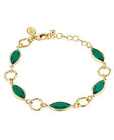 14K Gold Dipped Link Bracelet